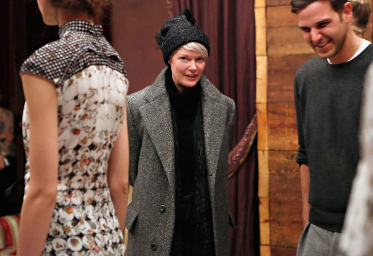 Kate Lanphear - Brood By Serkan Sarier - Front Row - Fall 2013 Mercedes-Benz Fashion Week