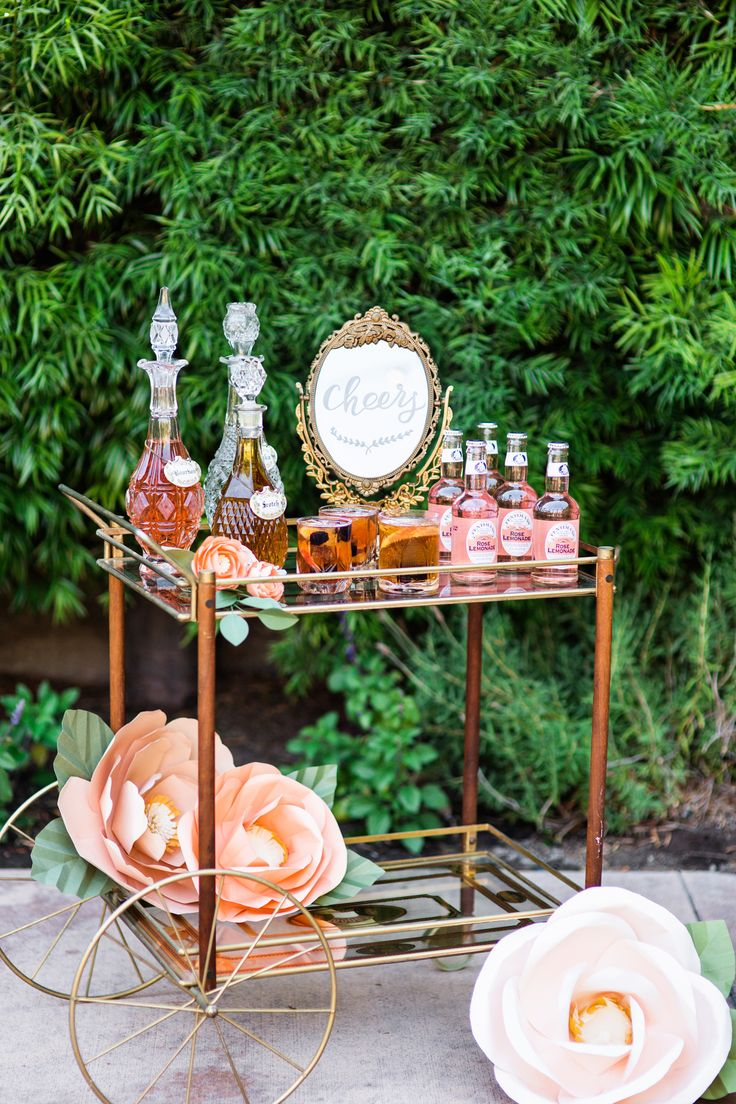 Photography: Kim Le Photography - kimlephotography.com  Read More: http://www.stylemepretty.com/california-weddings/2015/05/22/romantic-garden-bridal-shower-inspiration/