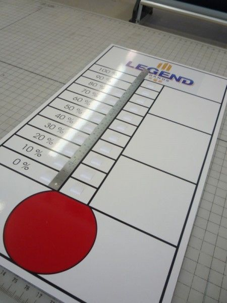 Whether you choose to use these goal and donation for Donation thermometer template