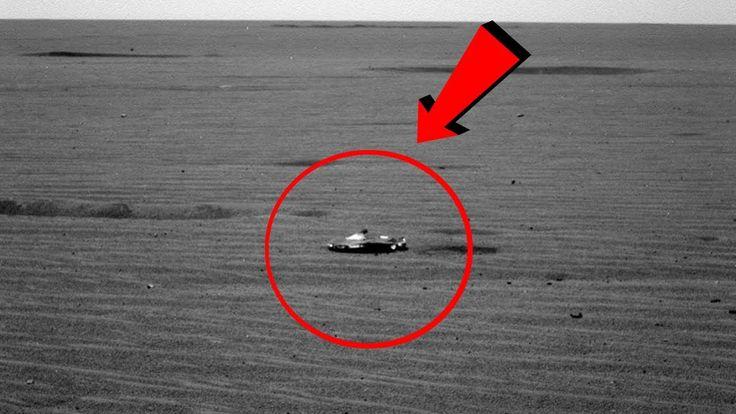 ¡NASA Capta Nave Extraterrestre En Marte!