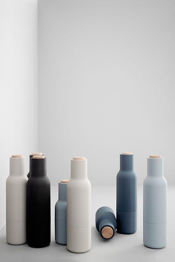 """Geschenkideen - Design für Männer: Salz- und Pfefferstreuer """"Bottle Grinder"""""""