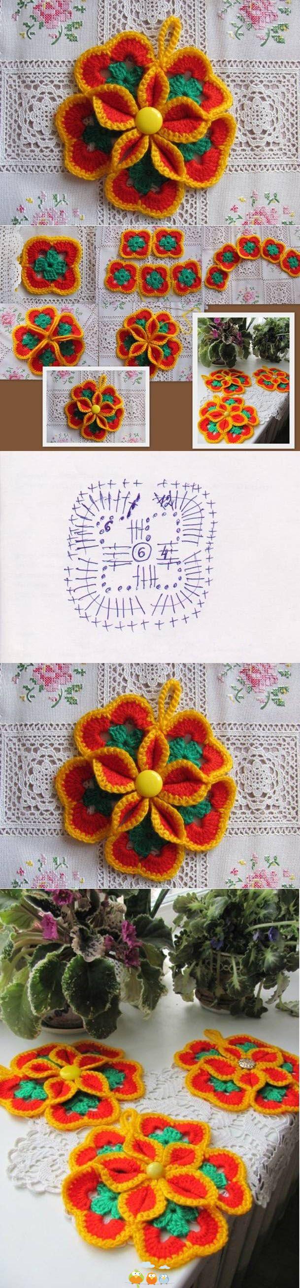 """Estas flores me recuerdan a las """"Flores Africanas"""" con sus exclusivos colores."""