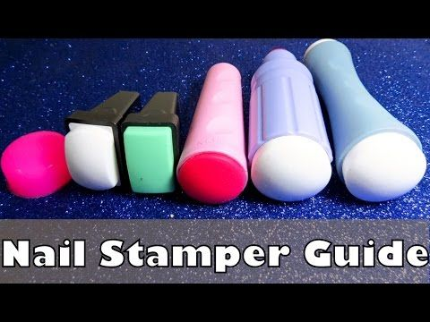 Ultimate Nail Stamper Guide | Nail Art Stamping Basics & Techniques - YouTube