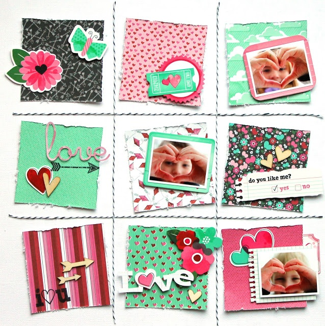Mylittleblessings American Crafts Valentines Day Blog