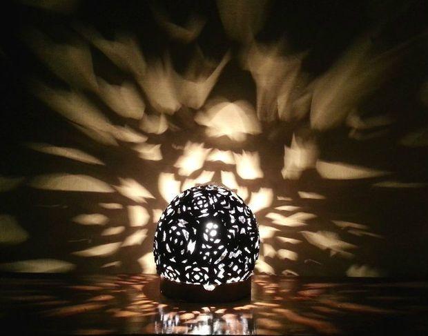 Picture of Fantasy Light-Burst Lampshade