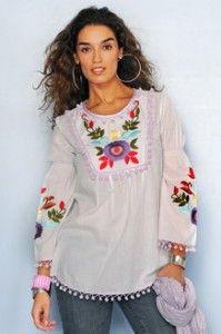 Blusas Mexicanas 3