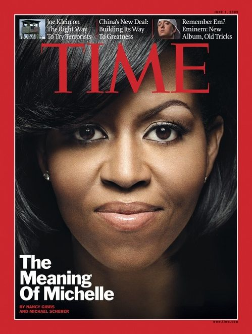 PHOTO: Michelle Obama Pictured As Nude Slave in Spanish Magazine