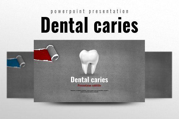 Dental Caries by Good Pello on @creativemarket