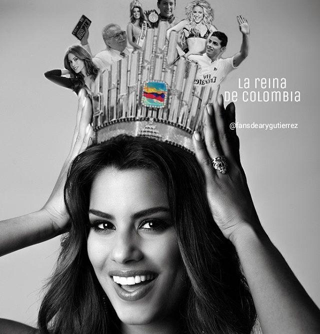No tendremos muchas coronas PERO QUE MÁS QUE ESTOS LOGROS MIL VECES MÁS IMPORTANTES,  personas que han hecho sonar el nombre de Colombia en todo el  mundo en eso sí le llevamos ventaja a muuuchos paises .. Ella siempre será nuestra reina.. ELLA ES LA REINA DE COLOMBIA #beauty #beautiful #girl #winner #fashion #colombia #misscolombia #missuniverse @gutierrezary