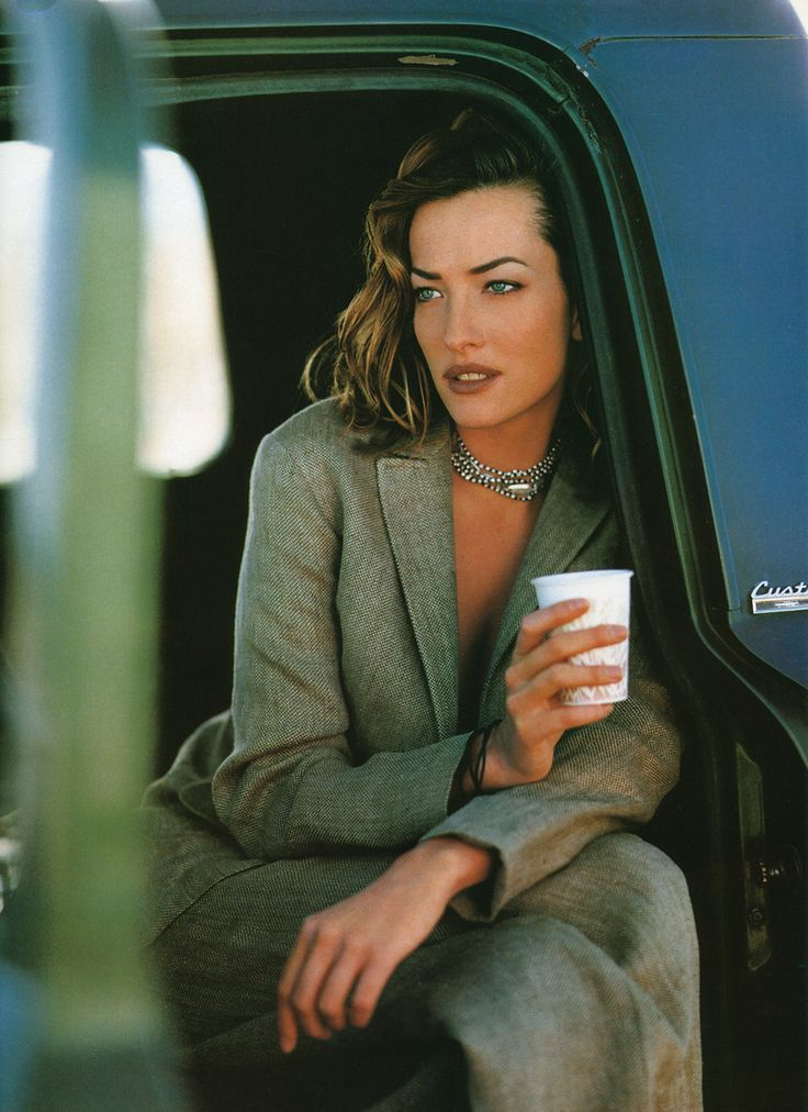 ☆ Tatjana Patitz | Photography by Mikael Jansson | For Vogue Magazine UK | May 1993 ☆