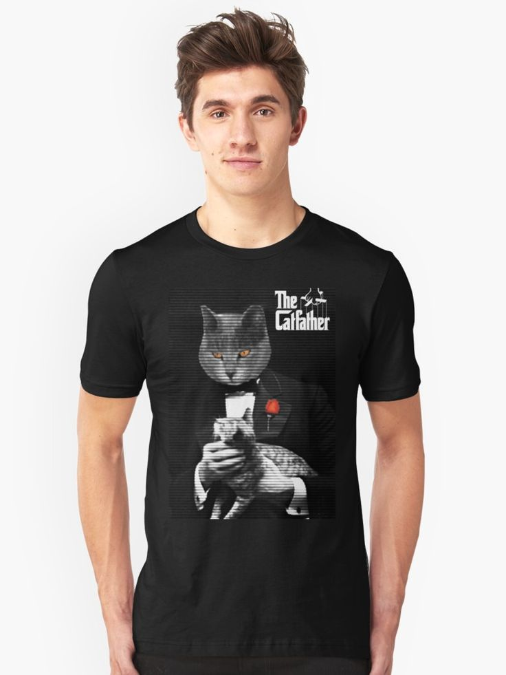 Sold! The Catfather Parody  T-Shirt by Scar Design. Many Thanks to the Buyer!! #thecatfather #funny #humor #parody #tshirt #style #fashion #cat #movie #cinema #cinephile #film #mafia #gangster #godfather  #thecatfather #family #kids #online #shopping #redbubble #gifts #cats #cat #giftsforhim #giftsforher #39 #redbubble     * Also available on many cool products.