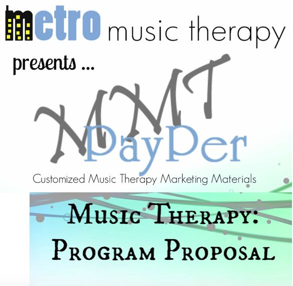 program proposal Career Development Pinterest Music therapy - program proposal