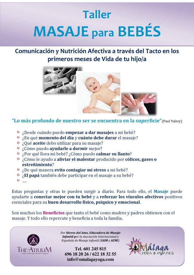 ¿Qué beneficios tiene darle masajes a mi bebé?
