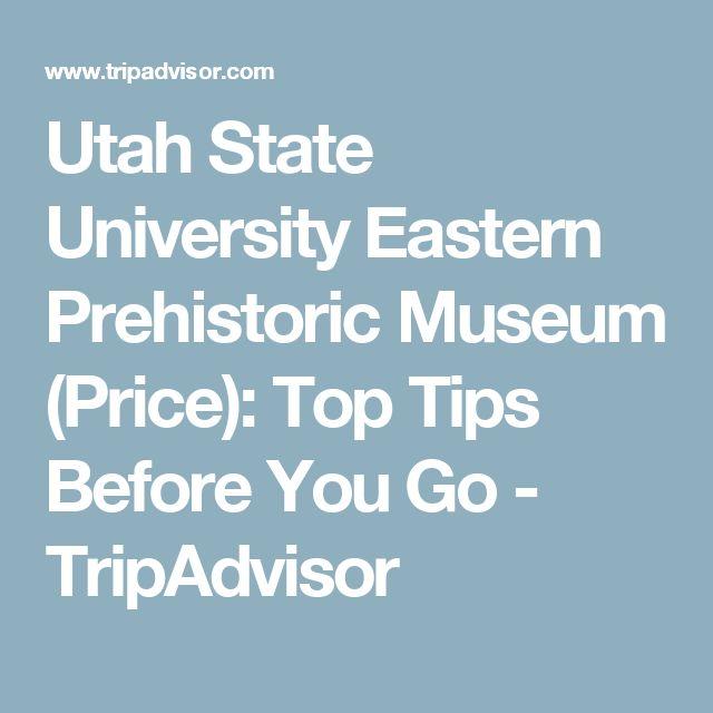 Utah State University Eastern Prehistoric Museum (Price): Top Tips Before You Go - TripAdvisor