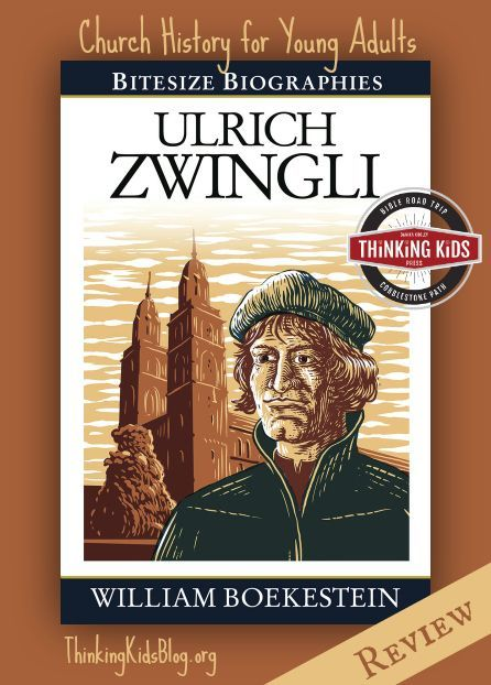 Ulrich Zwingli is a great Christian biography for high school students. #Reformation