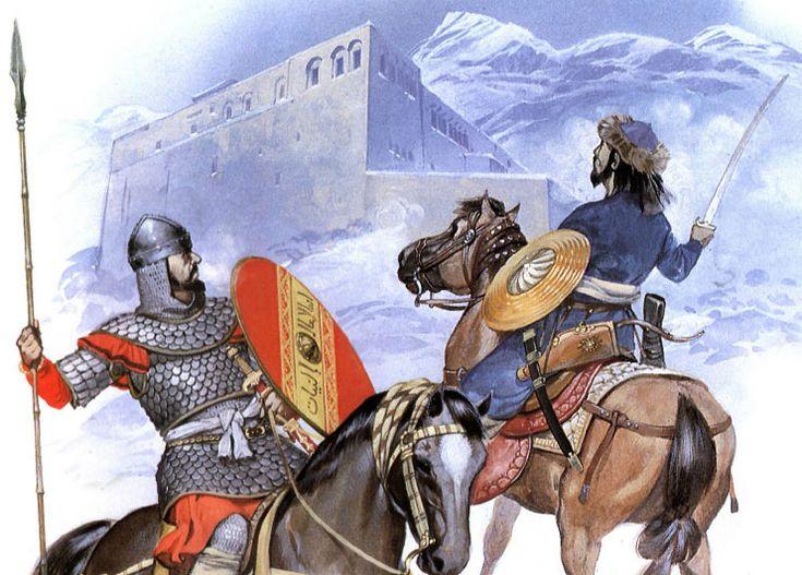 Sağdaki çizim, genel savaşçı kıyafetini iyi betimliyor. Aşağı yukarı tüm resimler için referans teşkil edebilir.
