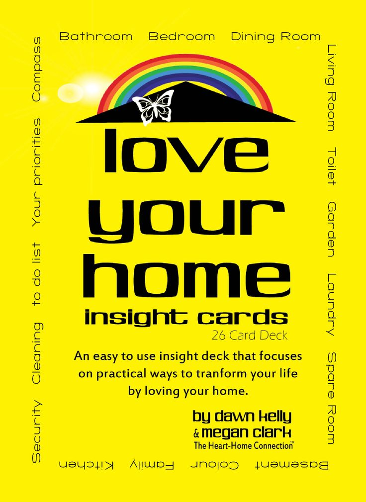 Here is the original and unique Love Your Home Insight Cards co-created by Dawn Kelly and Megan Clark. www.dawnkelly.com.au