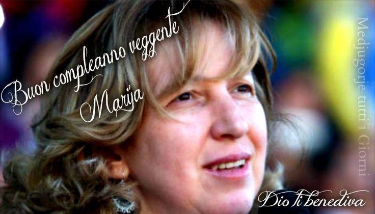 Medjugorje tutti i giorni: Marija Pavlovic-Lunetti una delle 6 veggenti di Medjugorje è nata il 1.4.1965