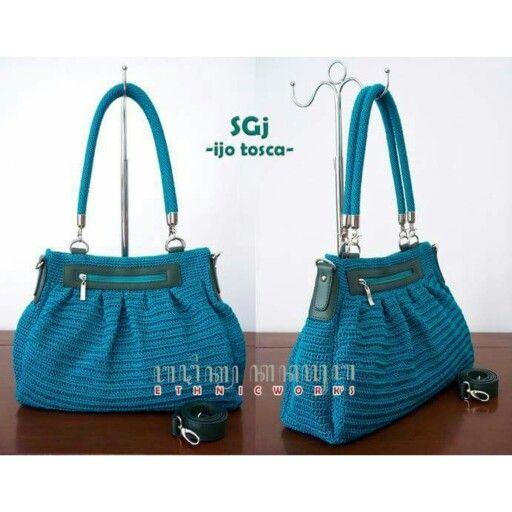 Crochet bag / tas rajut from kanayuBAG (IG: kanayubag_store)