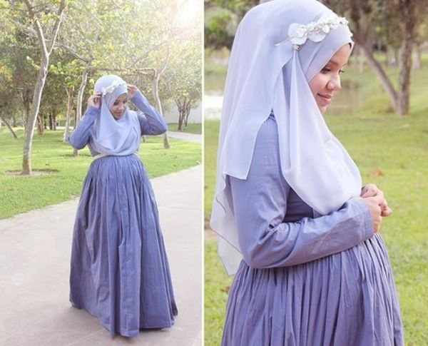 Beautiful....mash'a-allah....hijab and being pregnant