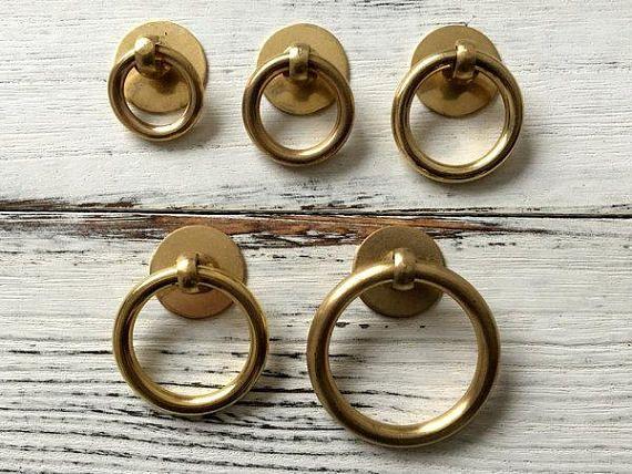 Brass Knob Dresser Knob Drawer Knobs Pulls Knobs Handles Antique Bronze Retro Rustic Kitchen Cabinet Door Knob Handle Hardware ARoseRambling