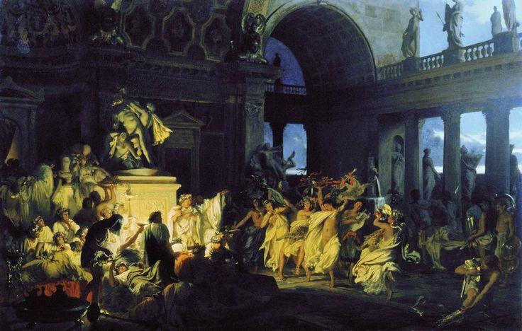 The Athenaeum - A Roman Orgy (Hendryk Siemiradzki - )