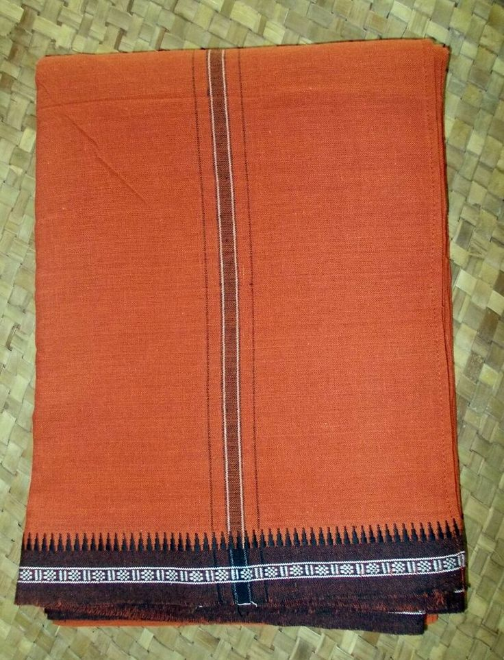 (Advertisement)eBay- Gorgeous Indian Saffron Kavi Rust Orange Cotton Lungi Saron…