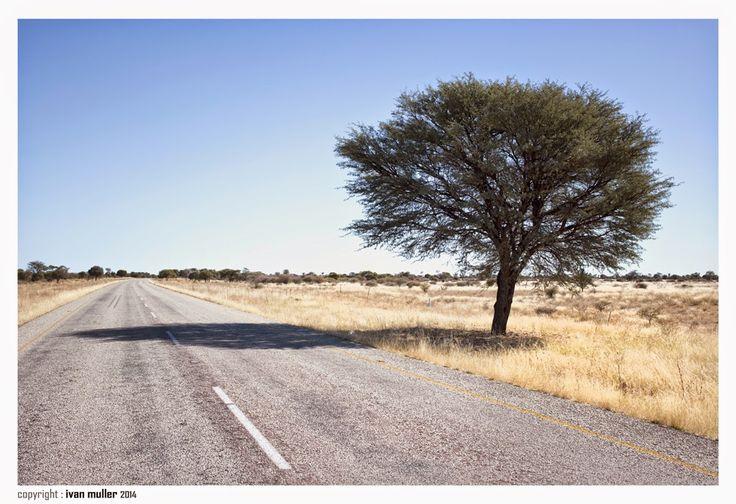 Road to the Namibian border .... Ivan Muller