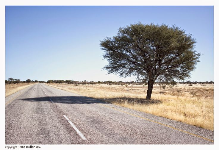 Road to the Namibian border .... Ivan Muller