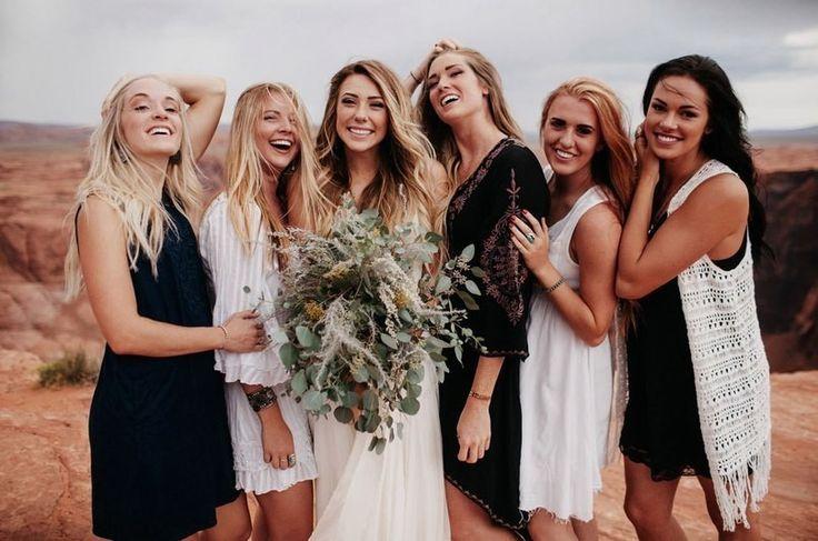 Свадьба на Гранд-Каньоне   Фото: Jordan Voth    #wedding #bride #flowers