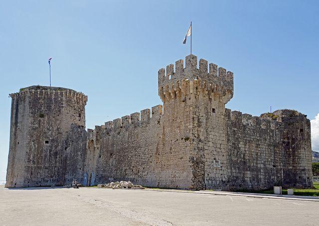Croatia - Trogir - Croatia-01118 - Kamerengo Fortress  / Kamerengo Fortress was erected soon after 1400, when Trogir became part of the Republic of Venice.