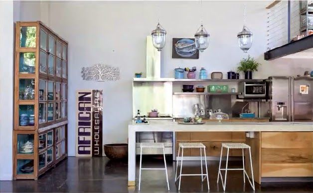 kitchen in south african home