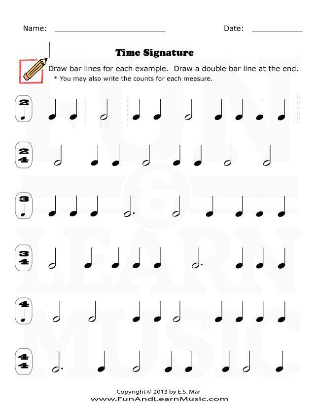 19 Best Note Value Images On Pinterest Music Worksheets