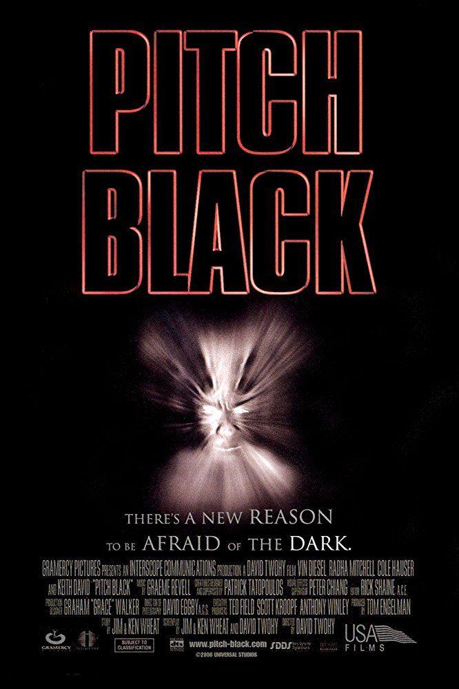 Pitch Black (2000) Título original: Pitch Black (Australia, EE.UU.) Género: Películas > Terror / Ciencia ficción / Acción Director: David Twohy. Duración: 110 minutos.