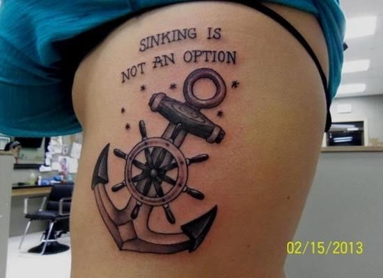 13 Best Anchor Tattoos And Their Distinct Meaning Images
