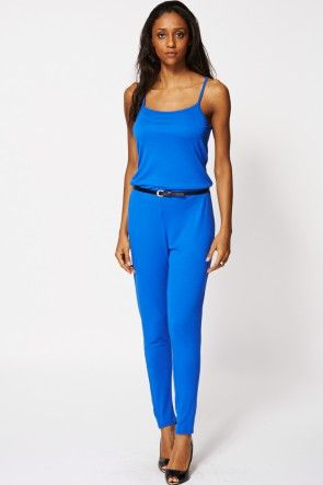 Relaxed Waist Jumpsuit Ex Branded