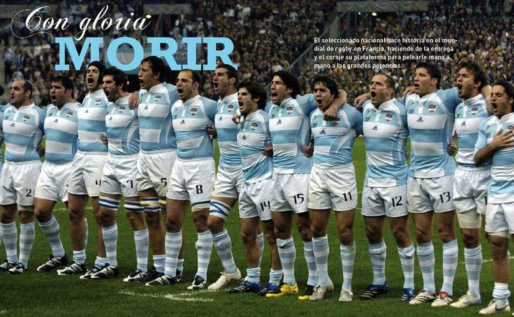 Seleccion Argentina de Rugby . Copa del Mundo 2007 .  Historico 3er puesto