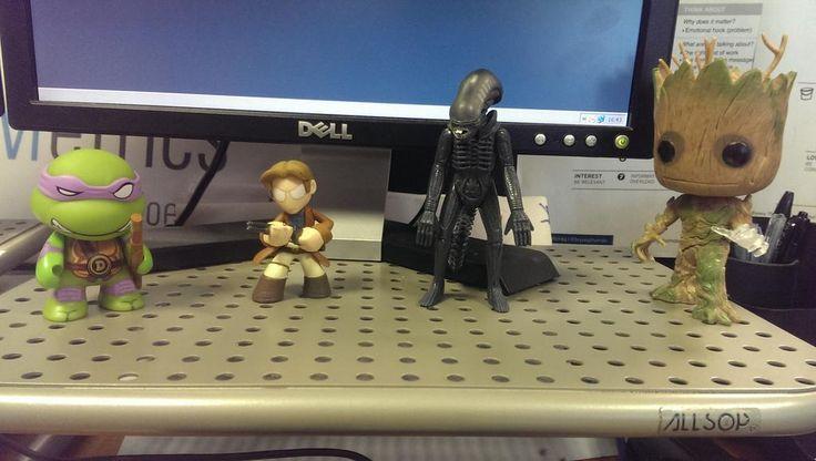 My Desk Buddies