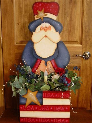uncle sam wood patterns | Decorative Woodcraft & Tole Painting Pattern Packets by Heidi