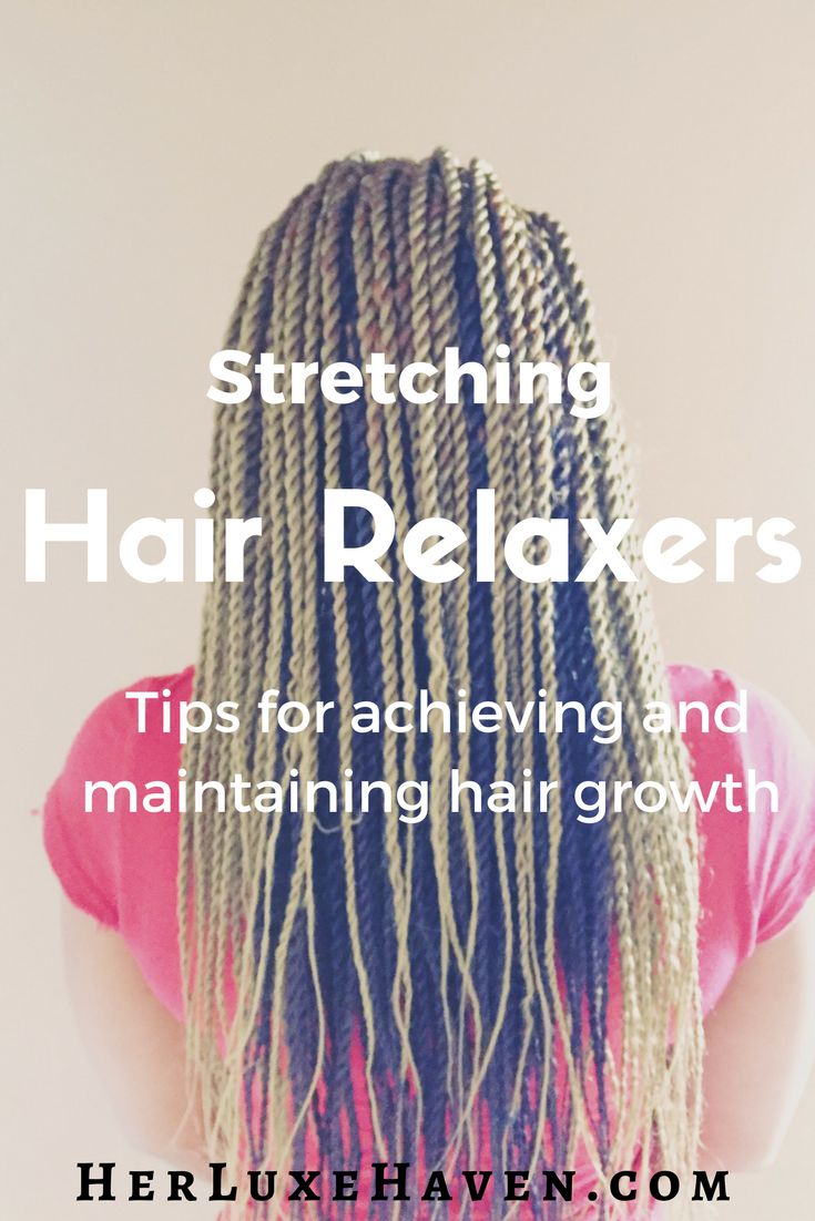 Sharing tips on stretching your relaxers and A FREE download of my 6-month routine