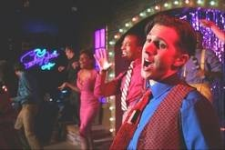 """""""Smokey Joe's Cafe"""" moves to Chicago's Royal George Theatre with most of the cast intact. Justin Adair, right, reprises his role in Theo Ubique's remount of its hit production of """"Smokey Joe's Cafe — The Songs of Lieber and Stoller."""""""