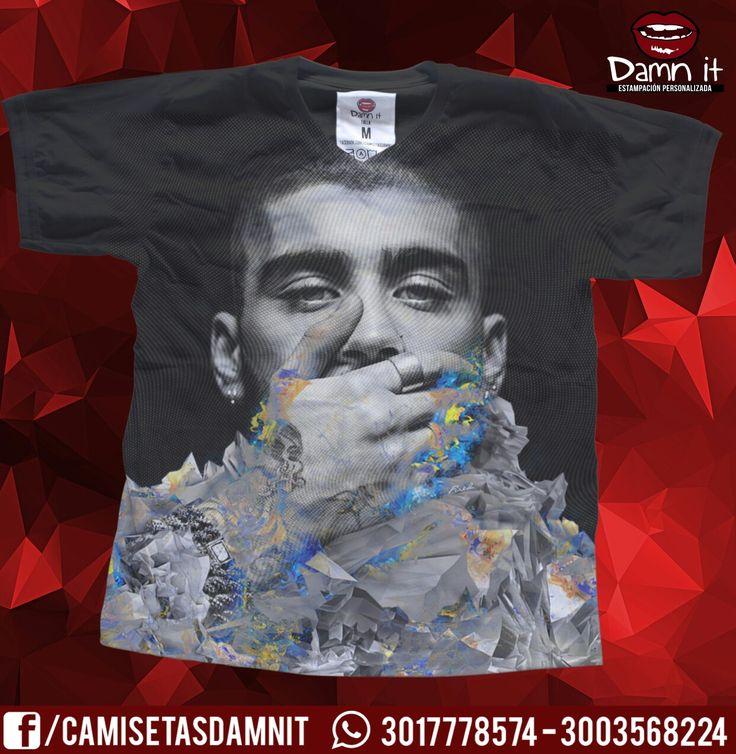 Camiseta zyan   https://www.facebook.com/CamisetasDamnit
