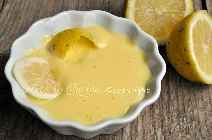 Crema al limone ricetta base