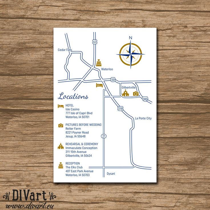 25+ Best Ideas About Wedding Direction Maps On Pinterest