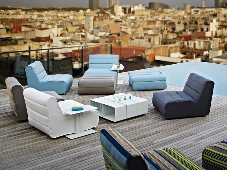 32 best Terrazze e balconi images on Pinterest   Backyard furniture ...
