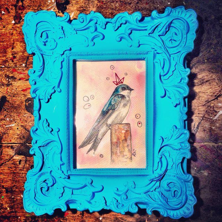 #aga #watercolor #bird