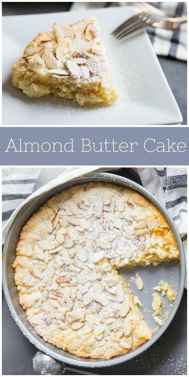 Mandelbutterkuchen Rezept von RecipeGirl.com: Dies ist ein ausgezeichneter Mandelgeschmack …   – Food