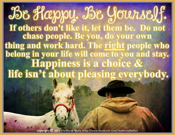 Feeling Hurt Quotes The Horse Mafia. on FB...