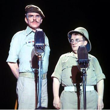 'Whispering Grass' - Windsor Davies & Don Estelle: 3 weeks at no. 1 in the UK charts from 7 June 1975.