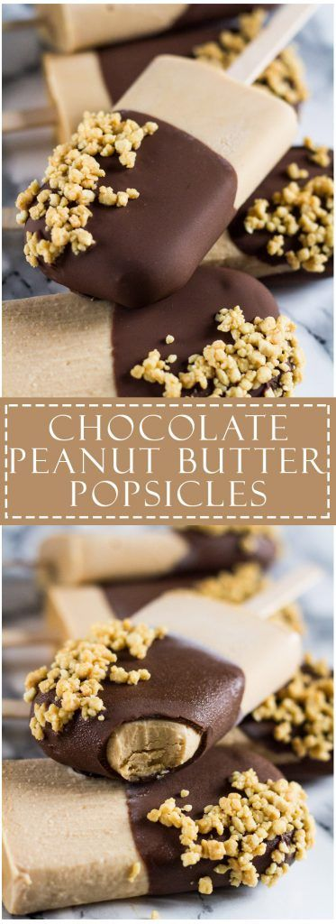 Chocolate Peanut Butter Yoghurt Popsicles | marshasbakingaddiction.com @marshasbakeblog